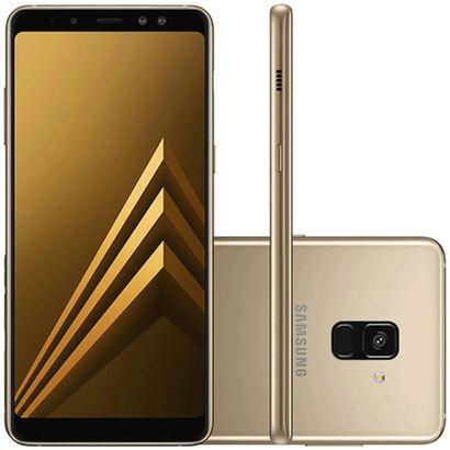 Celular Smartphone Samsung Galaxy A8 A530f 64gb Dourado - Dual Chip