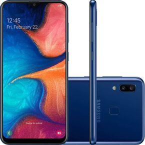 Samsung Galaxy A20 A205G Azul --2