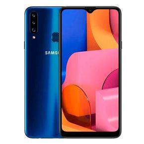 Samsung Galaxy A20s A207m  Azul ---- 3