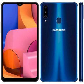 Samsung Galaxy A20s A207m  Azul ---- 2
