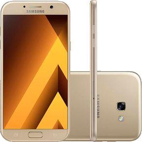 Galaxy A5 2017 A520f dourado --2