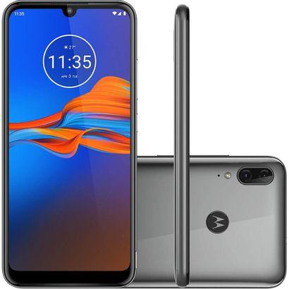 Celular Smartphone Motorola Moto E6 Plus Xt2025 32gb Cinza - Dual Chip