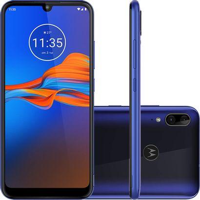 Celular Smartphone Motorola Moto E6 Plus Xt2025 32gb Azul - Dual Chip