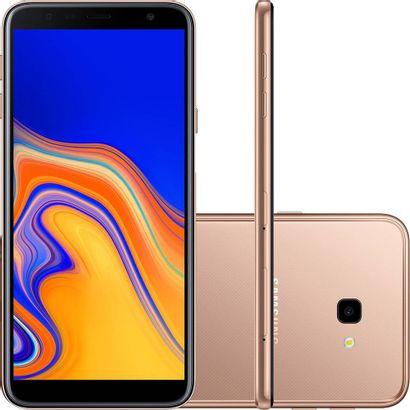 Celular Smartphone Samsung Galaxy J4 Plus J415g 32gb Dourado - Dual Chip