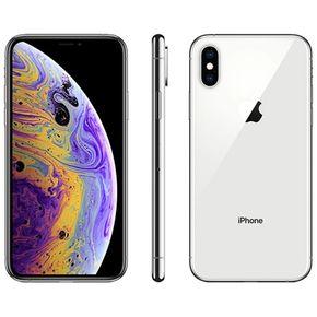 Apple iPhone XS  Prata ---2