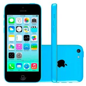 Apple iPhone 5C  Azul --2