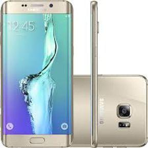 Samsung G925i Galaxy S6 Dourado --- 2
