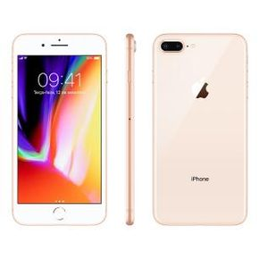 Apple Iphone 8 Plus 128GB dourado--2