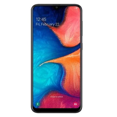 Celular Smartphone Samsung Galaxy A20 A205g 32gb Preto - Dual Chip